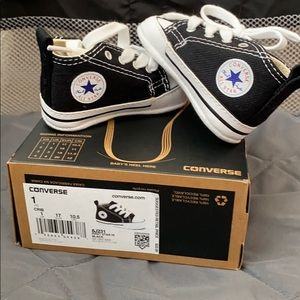 Baby size 1 converse